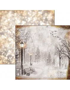 Papier  12x12 d/s The first fall of snow - Snow and the City Collection
